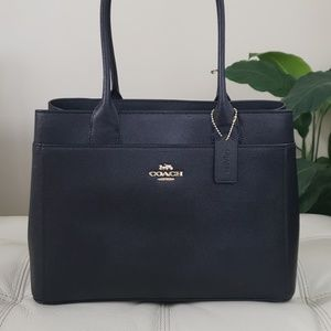 Coach Signature Casey Tote, Black